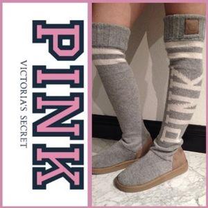 Mukluks boots Victoria's Secret RARE 7/8